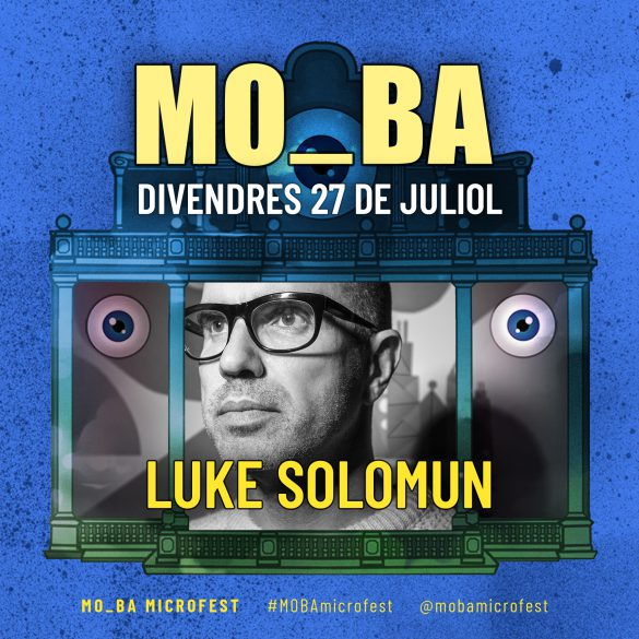 Luke Solomon gets involved at the MO_BA Festival Barcelona
