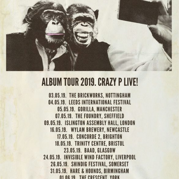 Crazy P Announce Album Launch And Tour